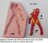Super Herói Homem de Ferro (Ironman) Vingadores Avengers com 9x5cm
