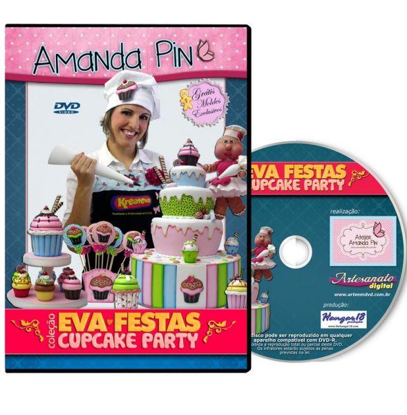 DVD Amanda Pin - EVA FESTA - CUPCAKE PARTY