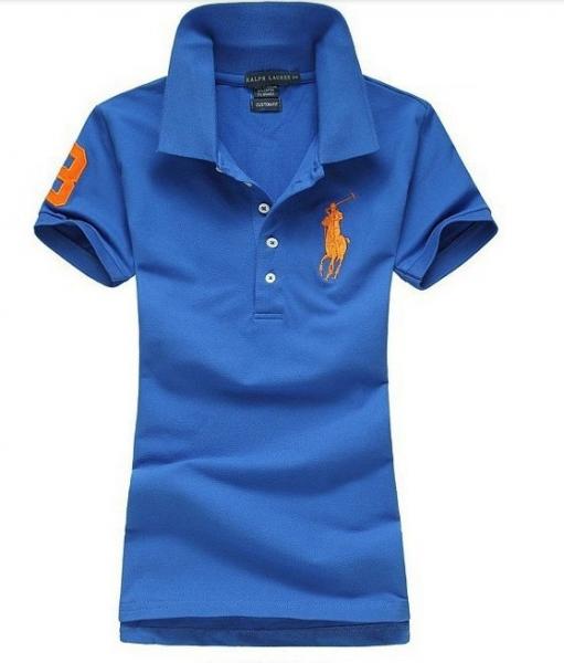 Camisa Polo Feminina Ralph Lauren - Azul Escuro 3fc7fc3d46ea7