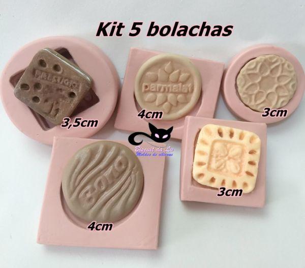 Kit com 5 bolachas - bono/prestigio....