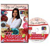 DVD - Flores de Scrapbooking Volume 2