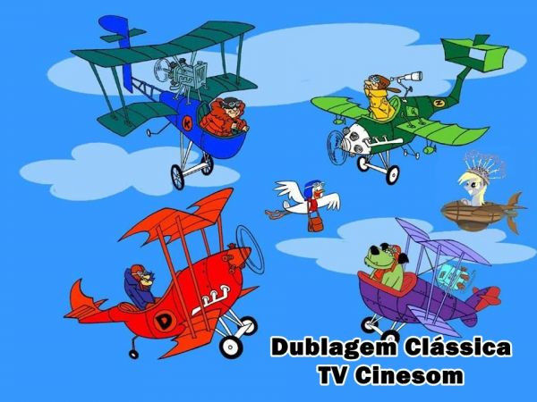 Dick Vigarista Muttley E As Maquinas Voadoras 3 Dvds