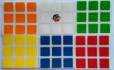 Rubik Original Adesivo Cubo Rubik 57mm