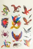 Kit 60 Tatuagens Aguias