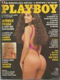 PLAYBOY MAGAZINE BRAZIL # 182 - MONICA FRAGA  (4) SEP 1990 HOT!!