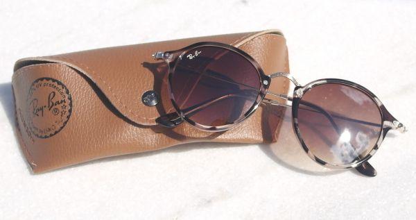 Óculos de sol feminino Ray ban Round retrô 2447 Inspired - Daf Store cffc3177bd