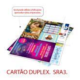 Impressão Colorida - SRA3 - CARTÃO DUPLEX 300g