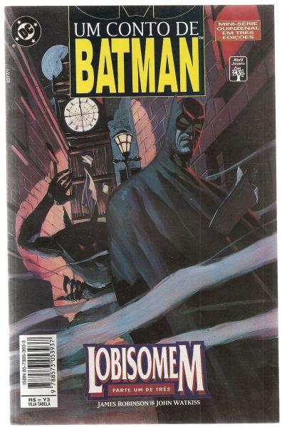 HQ - Um Conto de Batman - Lobisomem - Nº01