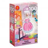 Puzzle 100 Peças - Fada Madrinha