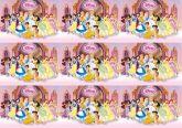 Papel Arroz Princesas Faixa Lateral A4 011 1un