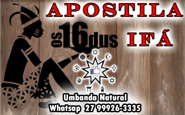 APOSTILA 16 ODÚS IFÁ E ARQUÉTIPO