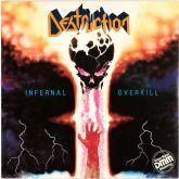 DESTRUCTION - Infernal Overkill - LP (Woodstock 1987)