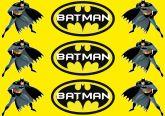 Papel Arroz Batman Faixa Lateral A4 011 1un