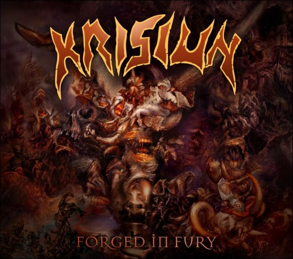 -CD Krisiun - Forged In Fury + Slipcase (Luva) + Pôster + Porta Copos