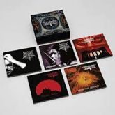 CD - Box Nightfall - Holy Nightfall - The Black Leather Cult Year (05 CDS digipacks)