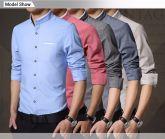 Marca Langger Beyaar Camisas masculinnas