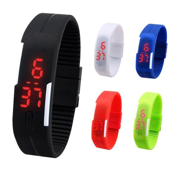afc9e0e0822 Relógio Led Digital Sport Bracelete Pulseira Silicone