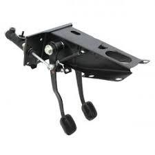 Pedaleira Completa c/ pedal de freio e pedal de embreagem Lada Laika (usado) Ref.
