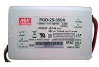 PCD-25-350A Driver Dimerizável 25W / 350 mA Mean Well (p/ LEDs de 1W)
