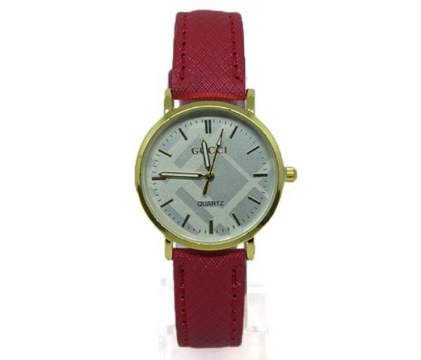 be17faf5f Relógio Feminino Anológico Gucci Dourado e Rosa -MB - bijurelogios