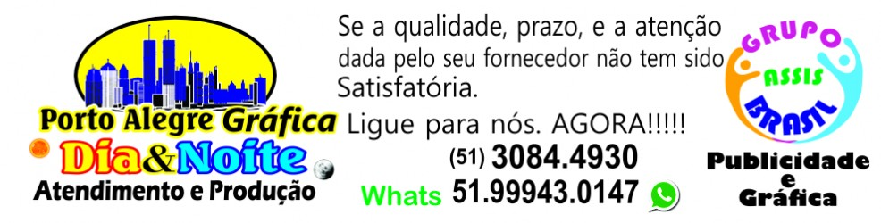 Porto Alegre Gráfica - Rifas, Convites, Notas Fisc