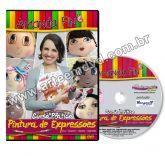 DVD Amanda Pin - Pintura de Expressoes - Curso Prático