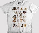 Camiseta Cachorrinhos