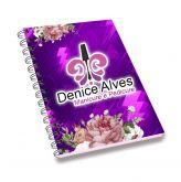 Agenda personalizada 100 folhas