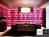 Revestimento Placas Decorativas 3D Board - Fibra de Bambu Original - Adel