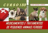 X-133. Medicamentos e tratamentos de pequenos animais feridos