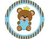 Papel Arroz Príncipe Urso Redondo 005 1un
