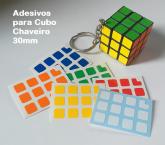 adesivos para Chaveiro Mini 30mm