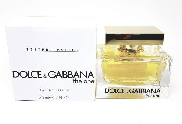Tester Perfume The One edp Dolce Gabbbana  75ml (TESTER)