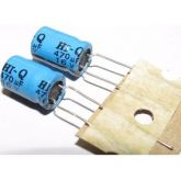 COD 621 - Capacitor Eletrolítico 470uF / 16V