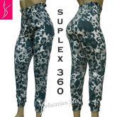 calça feminina jogger(44), camuflada, cintura alta, suplex gramatura 360