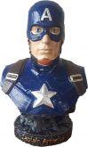 Capitão América Busto Marvel cerâmica