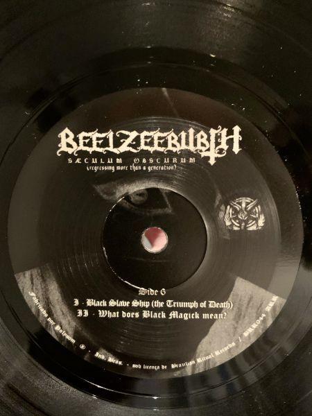 BEELZEEBUBTH - Sæculum Obscurum – 7' EP ( Gatefold + Poster)