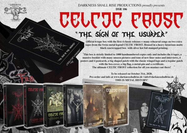Celtic Frost - The Sign Of The Usurper (6-Tape Box)