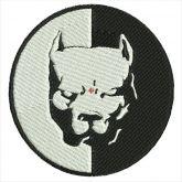 Pit Bull Matriz para Bordar Cachorro
