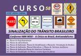 58. SINALIZAÇÃO DO TRÂNSITO BRASILEIRO