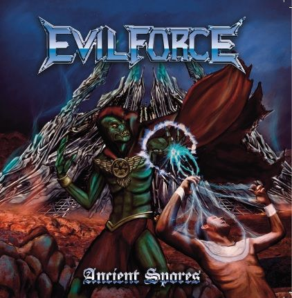 EVIL FORCE - Ancient Spores (CD DUPLO com SLIPCASE)