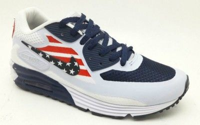 bf4afefa9d7 Tênis Nike Air Max 90 USA - Outlet Ser Chic