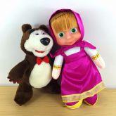 Pelucia Masha e Urso Cod 026