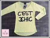 Tee C'est Chic  [ Amarela ]