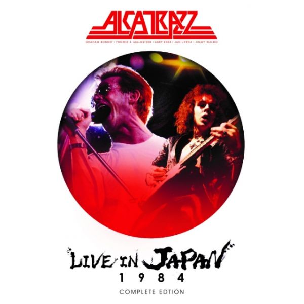 CD - Alcatrazz ‎– Live In Japan. November 10th, 1984 (+DVD)