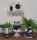 Kit Poket Monte Facil Futebol Cia do Eva