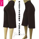 Pantacourt (P-M-G), cintura alta, tecido suplex 320