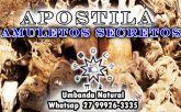 APOSTILA AMULETOS SECRETOS 16 TIPOS PARA TODOS OS FINS
