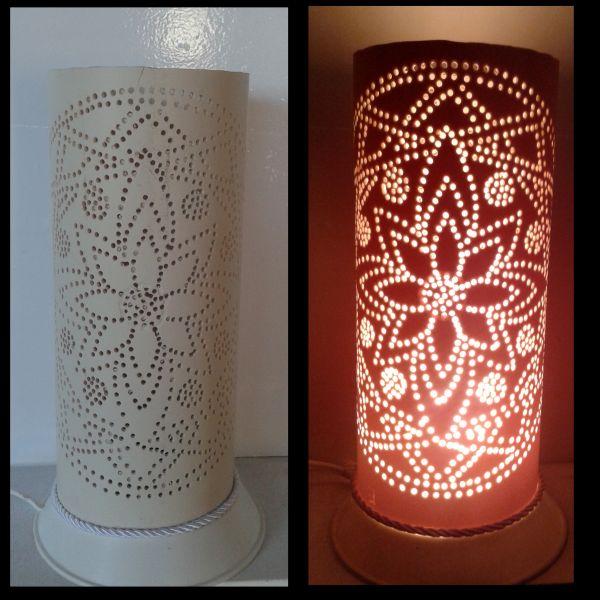 Artesanato Com Garrafa Pet Para Pascoa ~ Luminária em PVC Mandala 021 TRA u00c7O DE LUZ LUMINÁRIAS E