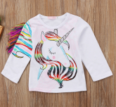 Blusa Rainbow Unicorn